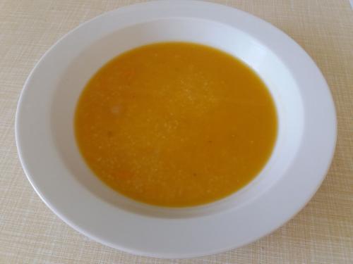Polévka cizrnová sbatáty